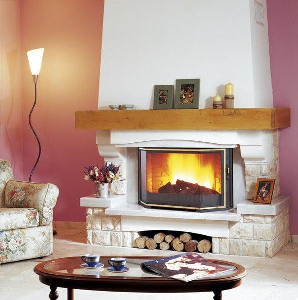 chemin e traditionnelle chemin es po les philippe. Black Bedroom Furniture Sets. Home Design Ideas