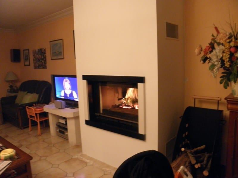 Cheminée BORDRIEUX bi-colore à Savenay