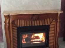 insert dans cheminée existante