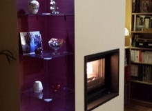 Cadre granit et foyer chaudière 695 CH