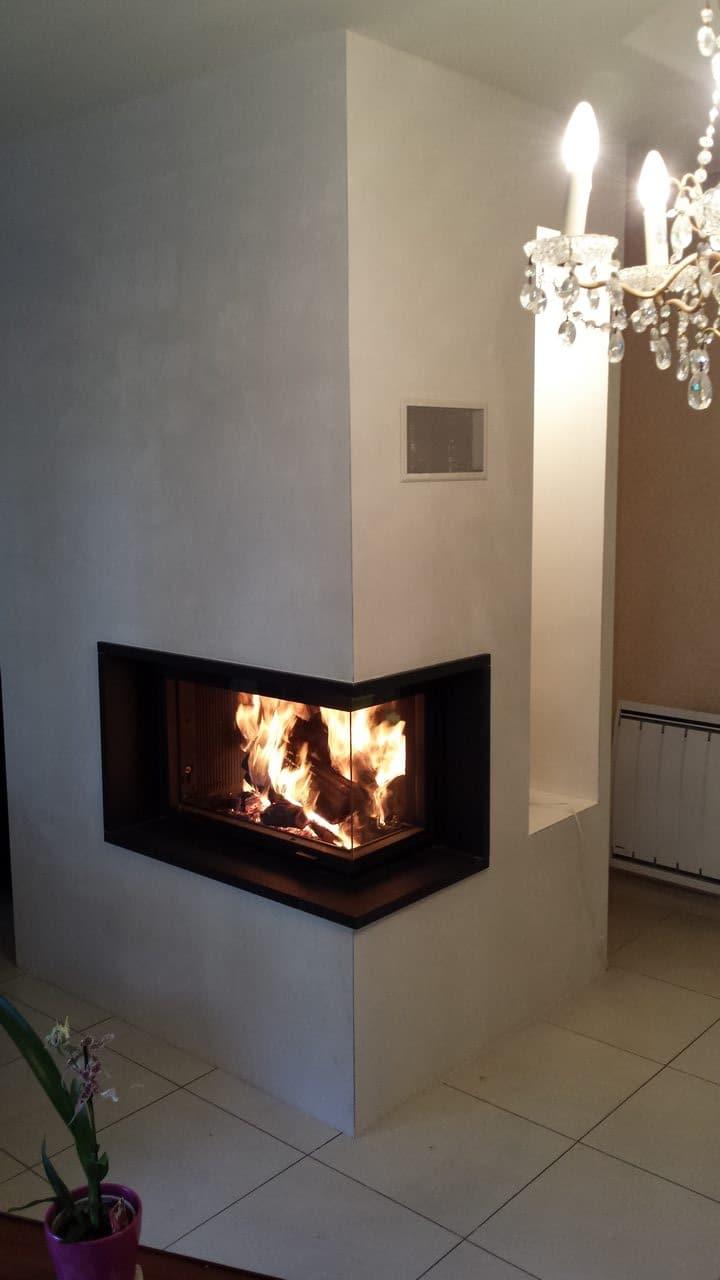 chemin e cadre en granit et foyer 777 2v orvault. Black Bedroom Furniture Sets. Home Design Ideas