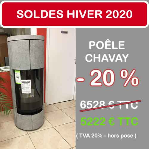 Soldes Janvier 2020 cheminées et poêles philippe
