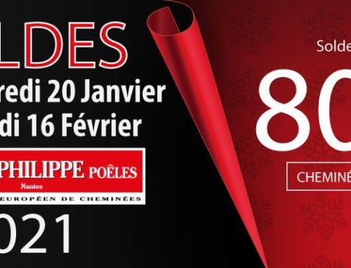 Soldes Cheminées et Poêles du 20 Janvier au 16 Février 2021